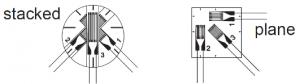 TML rosette strain gauge