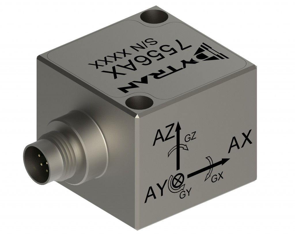 Analogue 6DOF Accelerometer from Dytran - Techni Measure